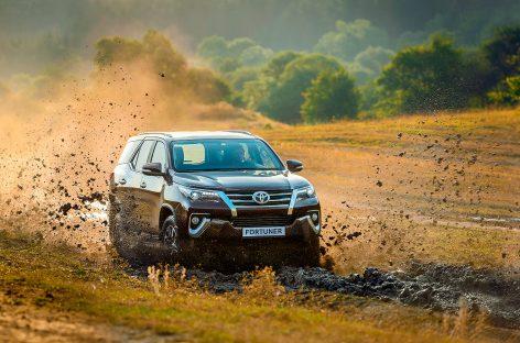 Новый Toyota Fortuner «на прилавках» страны