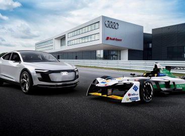 E-tron FE04 — первый электромобиль Audi для Формулы Е