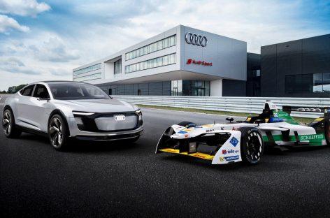 E-tron FE04 – первый электромобиль Audi для Формулы Е