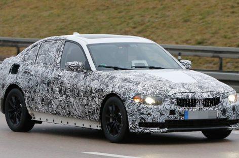 BMW вывела на тесты новый «заряженный» X4 M