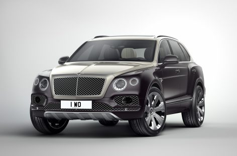 Bentley Bentayga Mulliner получил награду от Robb Report