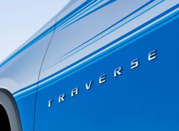 Концепция SUP Chevrolet Traverse раскрыта в преддверии SEMA