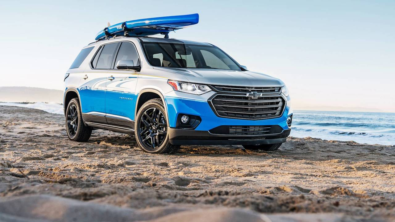 Chevrolet Traverse SUP Concept