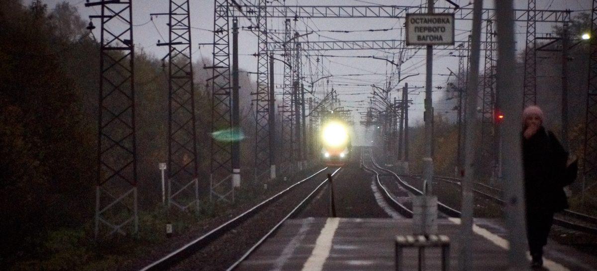Сбой движения поездов на Октябрьской железной дороге произошел из-за хищения кабеля