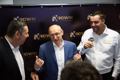 Открытие Krown центра в Москве