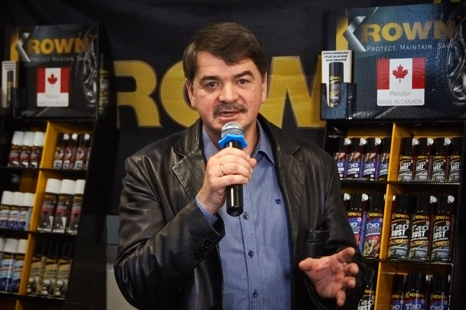 Олег Дмитриевич Звягин - председатель совета учредителей Krown РФ