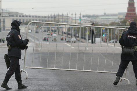7 октября перекроют движение в Москве
