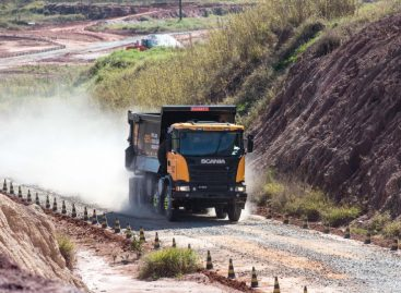 Мощный самосвал Scania Heavy Tipper