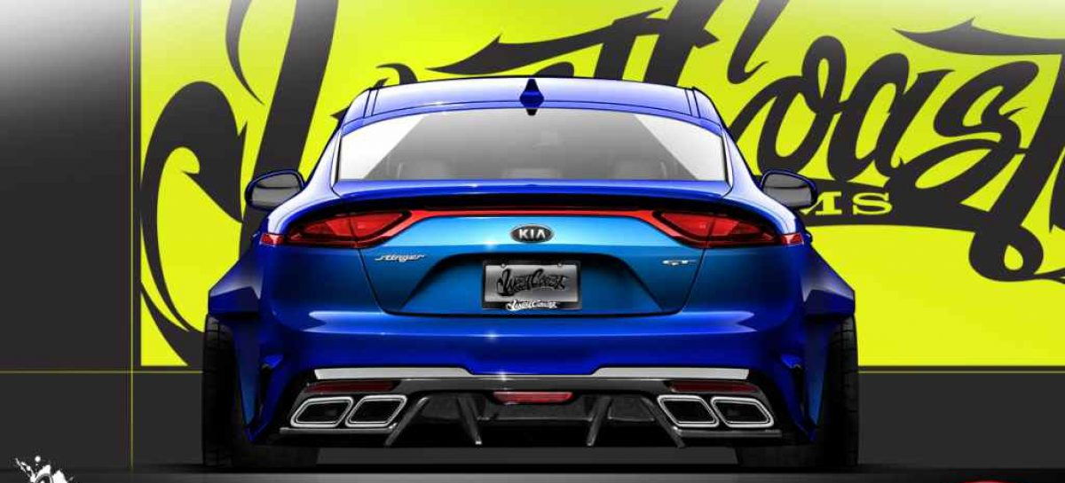 Stinger GT на выставке SEMA 2017