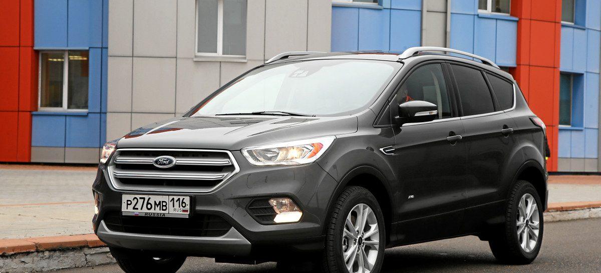 Ford Kuga — лидер продаж в России