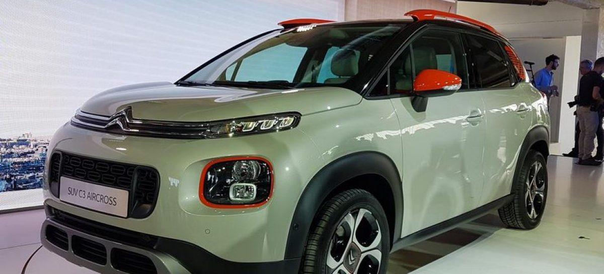 Новый кроссовер Citroën C3 Aircross – продажи в России
