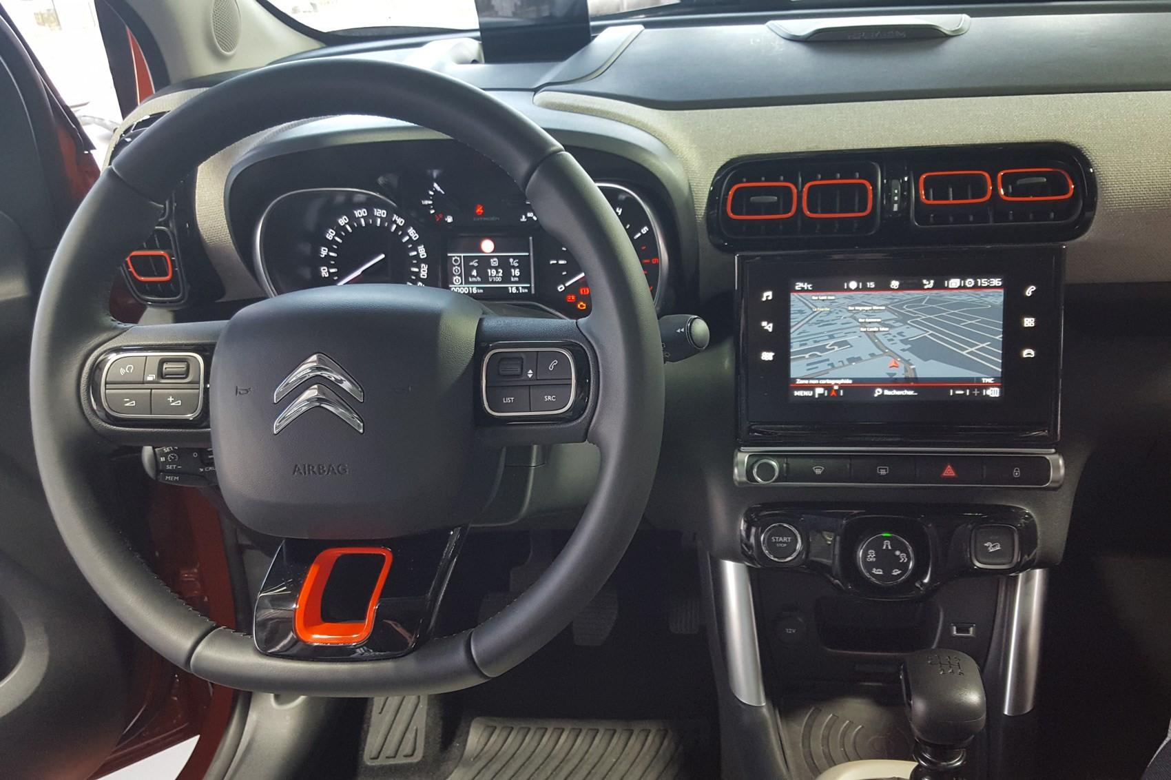 Кроссовер Citroen C3 Aircross 2018