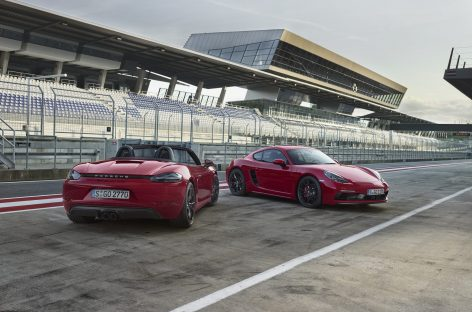 Новый Porsche 718 GTS