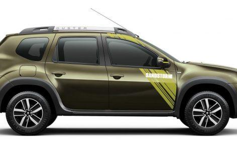Первые фото особой версии Renault Duster Sandstorm Edition