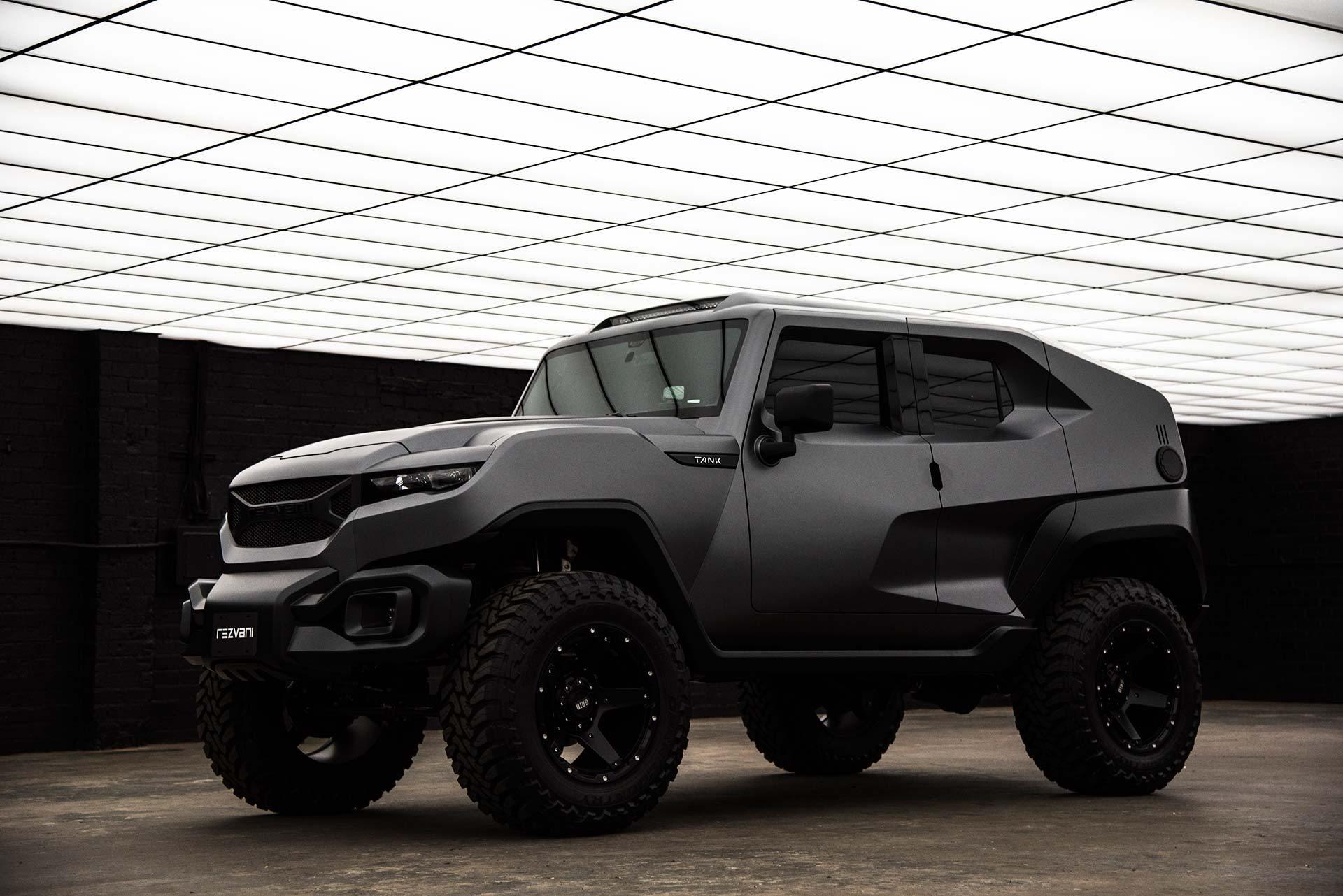 Rezvani сделает 500-сильный вседорожный автомобиль Tank