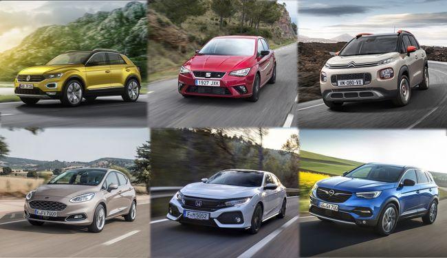 Шесть автомобилей номинировали на премию