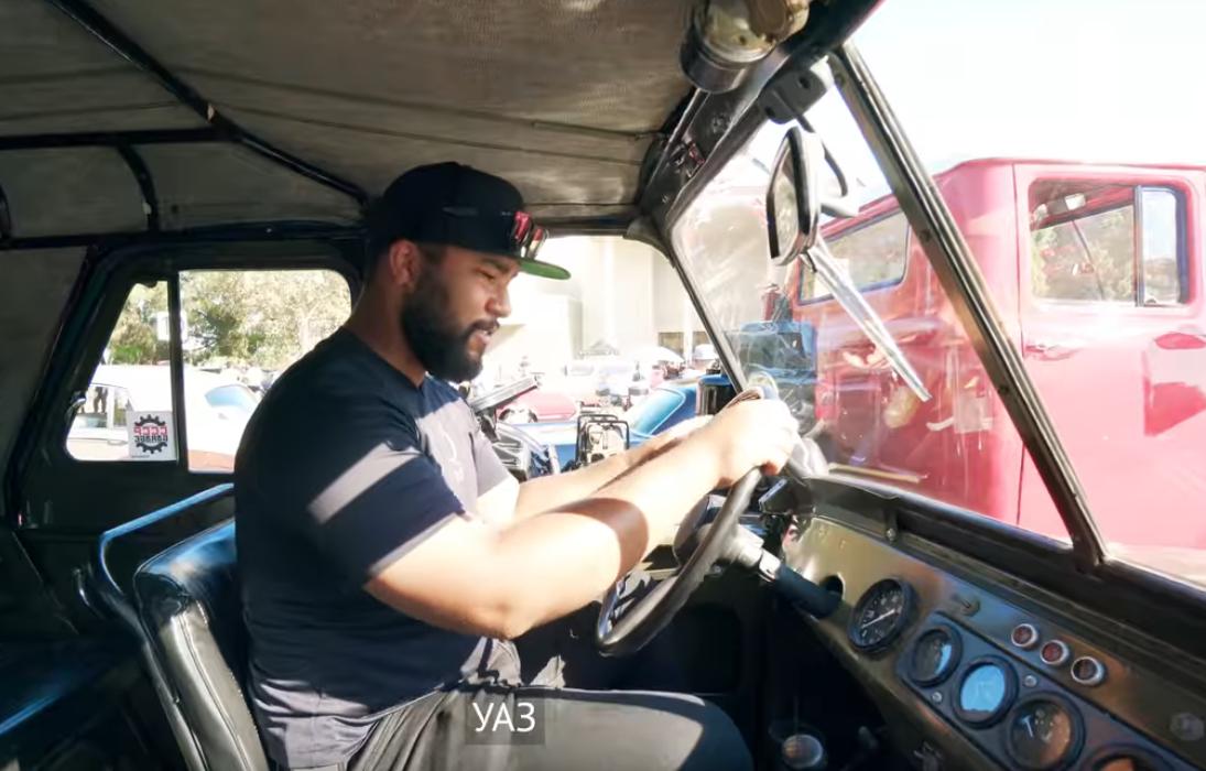 Американцы провели тест-драйв советского УАЗ-469