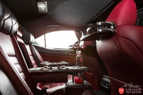 Седан Lexus IS by Eastside Motoring салон
