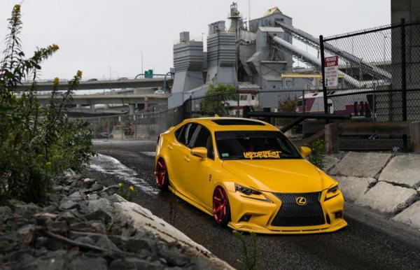 Седан Lexus IS by Eastside Motoring