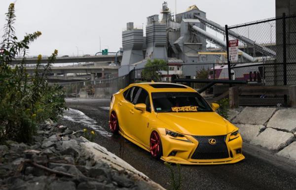 Седан Lexus IS by Eastside Motoring