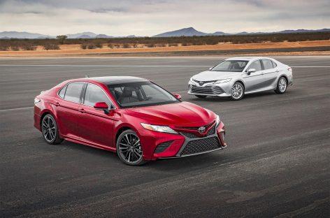 Новая Toyota Camry 2018