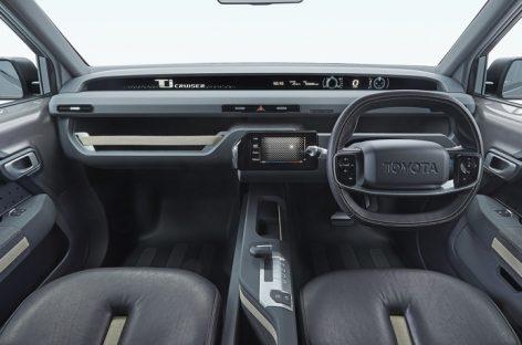 Внедорожник Toyota в образе фургона