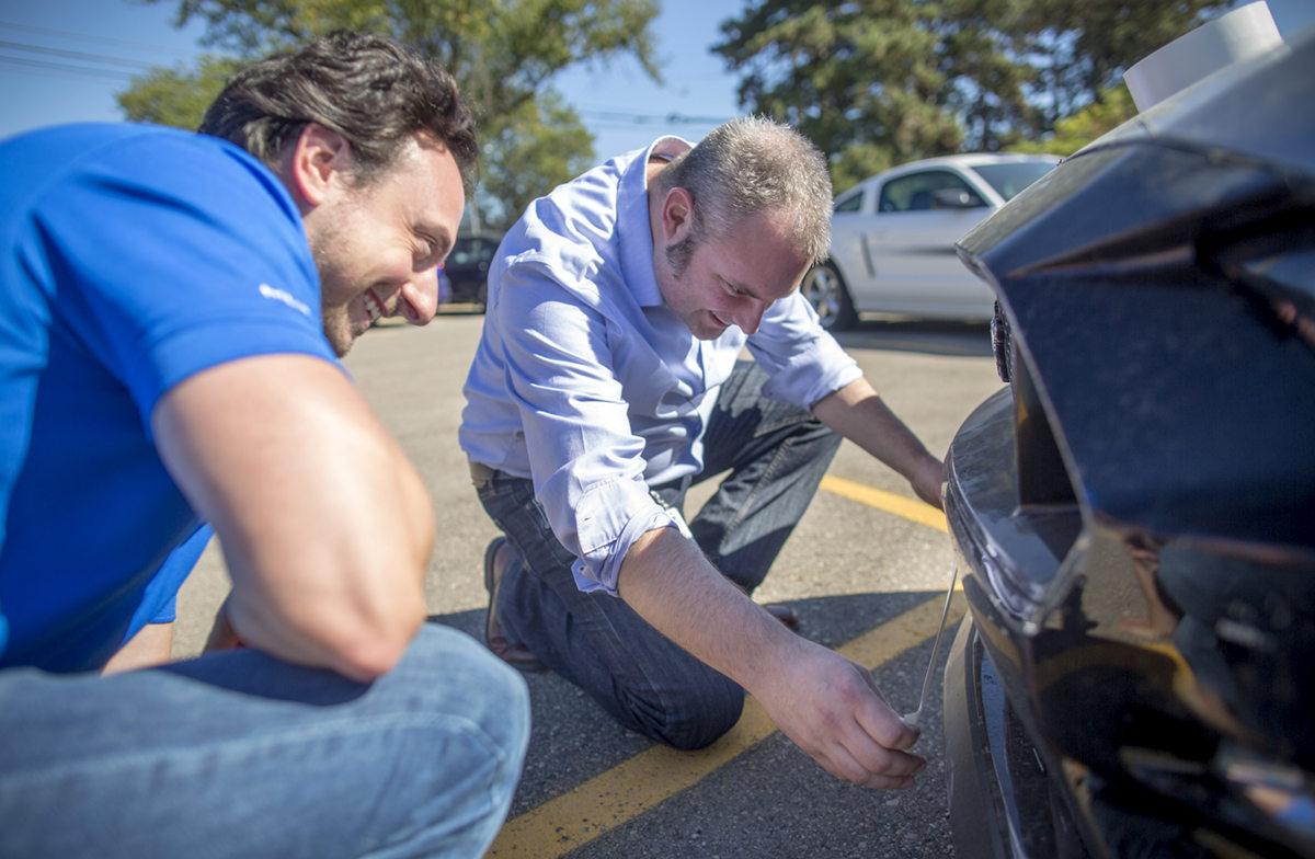 Улучшить аэродинамику Ford Mustang помогла клейкая лента