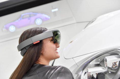 Виртуальный музей Porsche