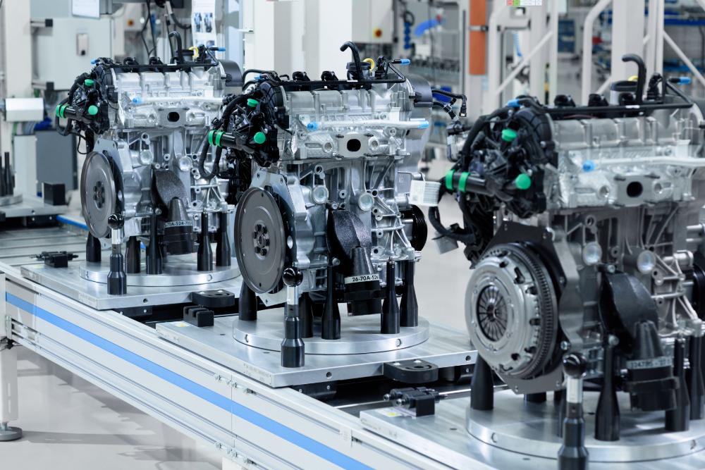 Двигатель Volkswagen произведенный в Калуге
