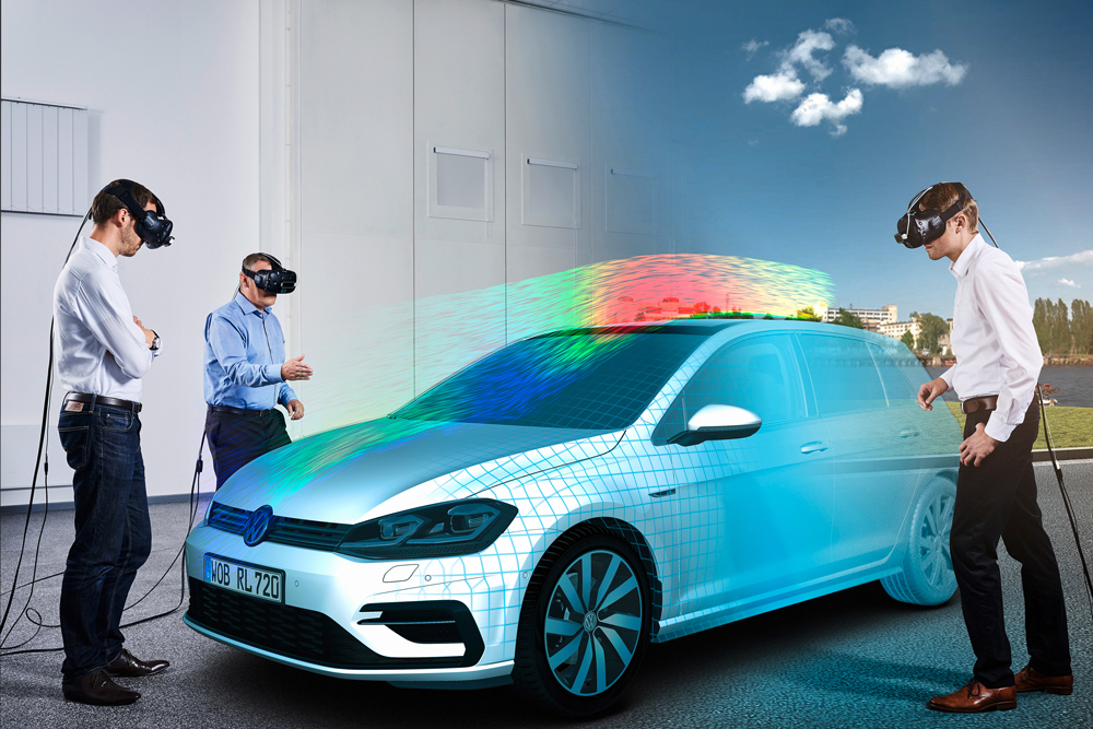 Volkswagen Virtual Concept Car