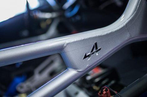 Alpine представила купе A110 Cup