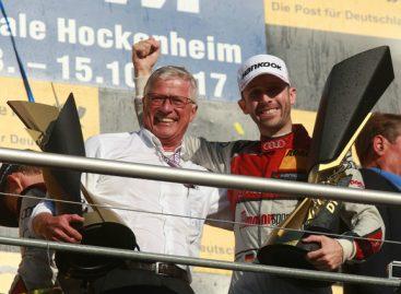 Пилот Audi Рене Раст одержал победу