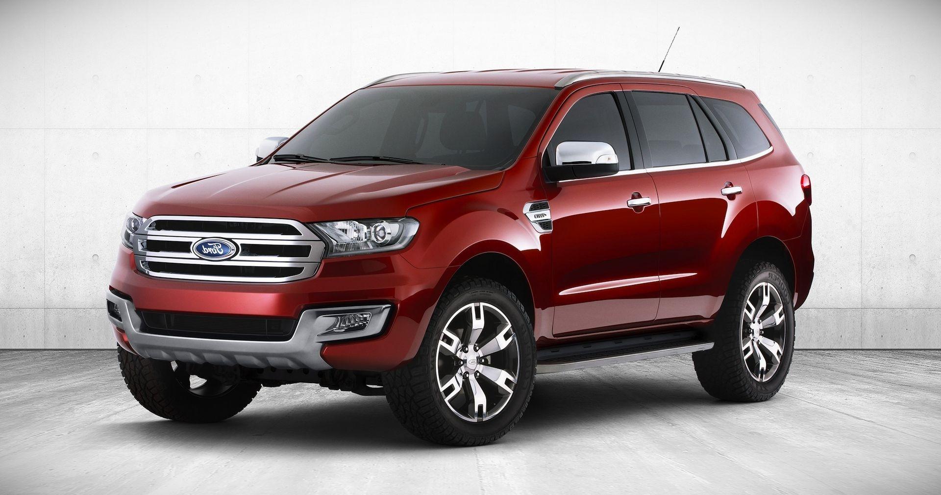 дизельный внедорожник Ford Everest 2018