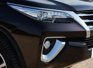 Toyota Fortuner прибыли в дилерские центры