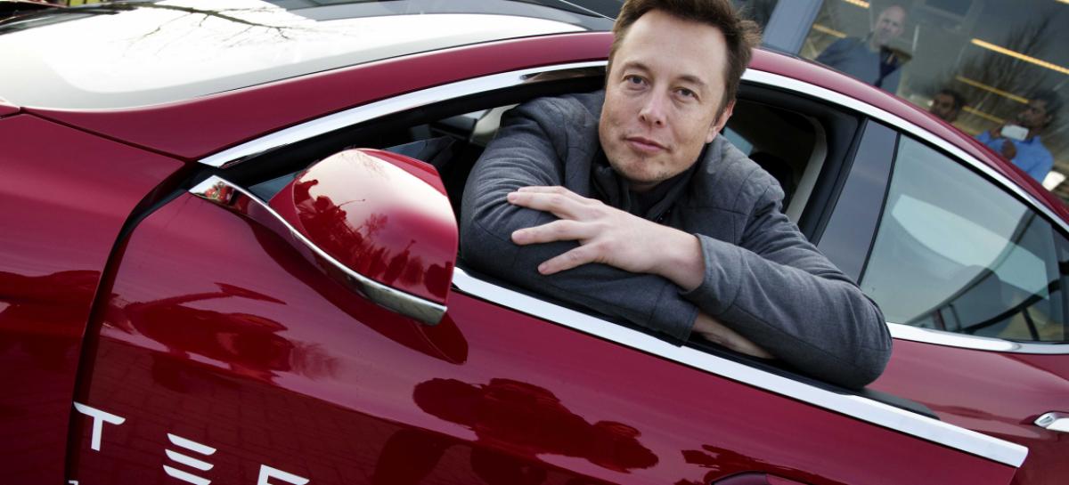 Илон Маск показал как собирают Tesla