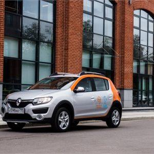 Renault Sandero Stepway теперь в московском каршеринге