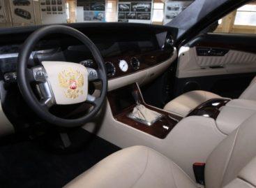 Видео испытаний автомобиля проекта «Кортеж»