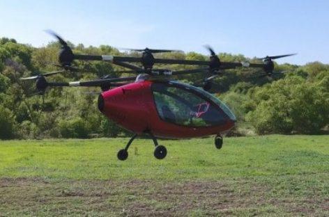 Passenger Drone протестировала первенца