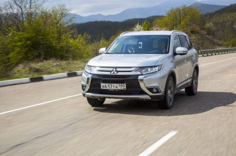 Новая версия Mitsubishi Outlander