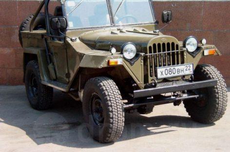 Раритетный ГАЗ-67Б