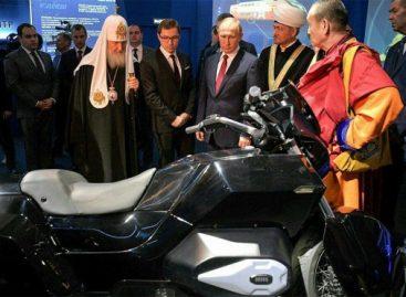 Путину представили проект автомобиля-дрона