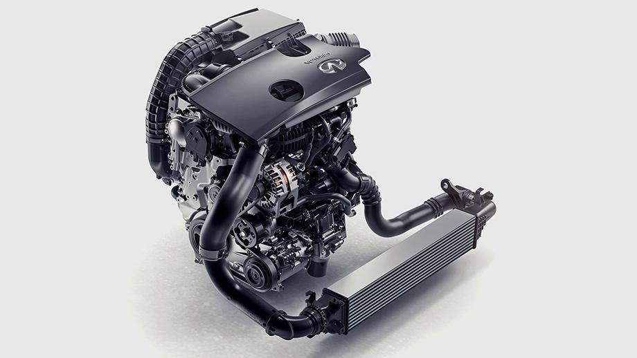 2018 Infiniti QX50-мотор