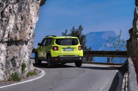 Старт продаж обновленного Jeep Renegade Trailhawk