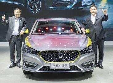 Дебют MG6 в Китае
