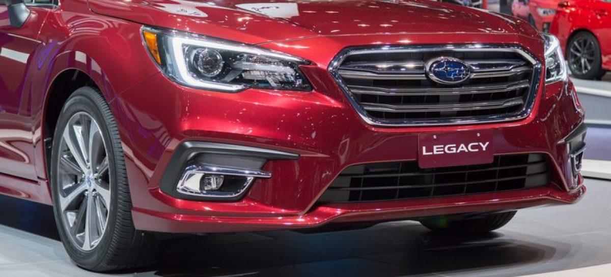 Subaru Legacy вернется в Россию