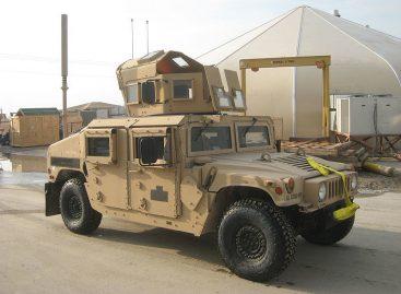 HUMVEE для армии Афганистана