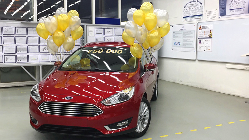 Ford Focus юбилейный