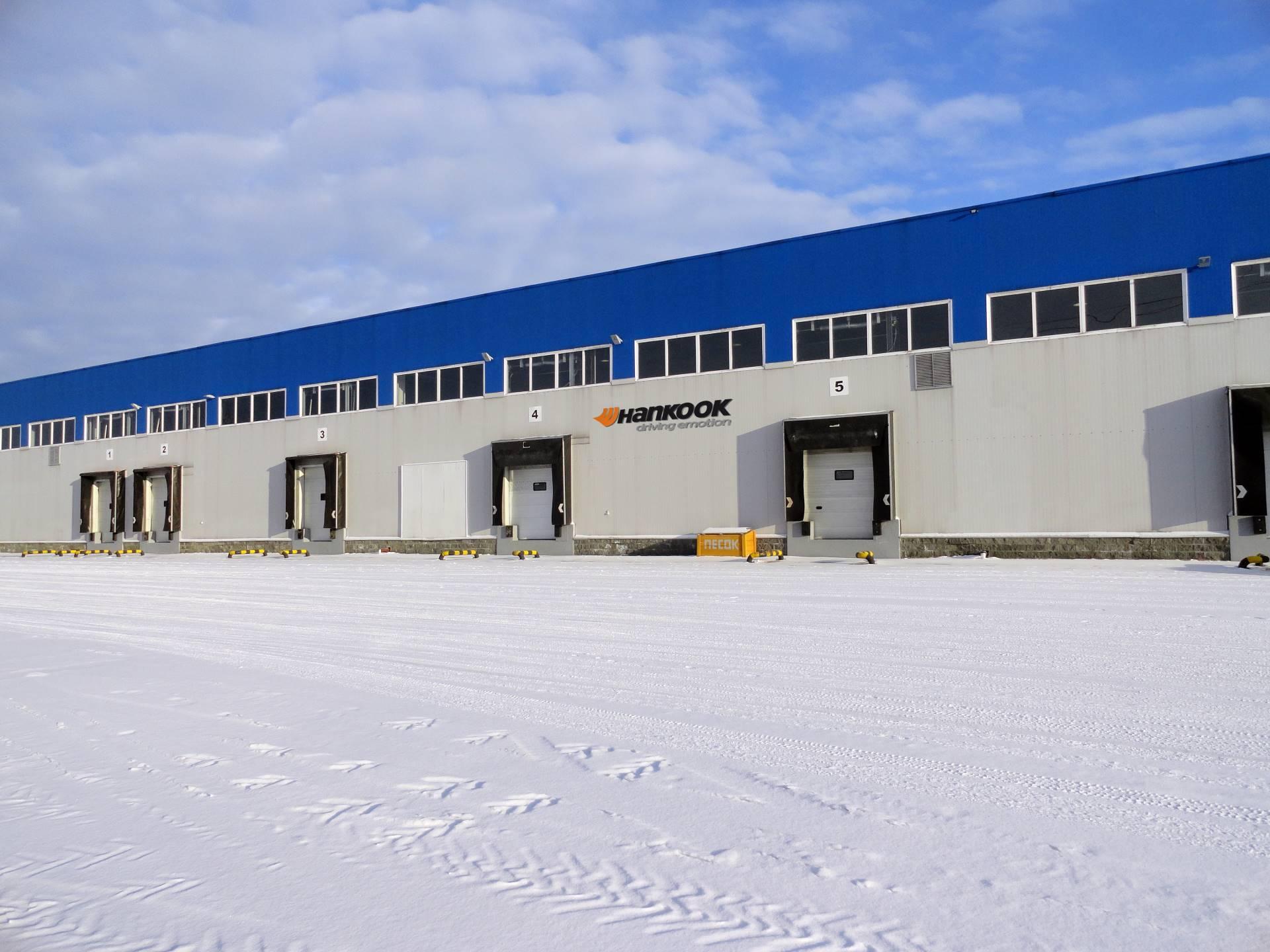 Hankook открыл дополнительный склад вНовосибирске