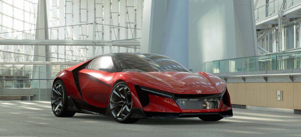 Дебют Honda Sports Vision GT