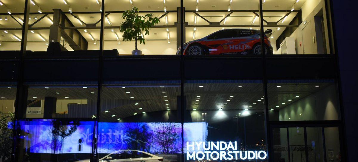 Новый формат знакомства с историей Hyundai